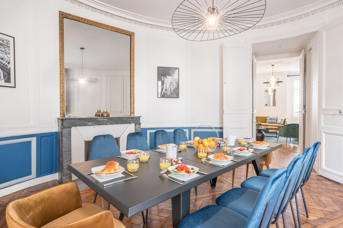 Apartment Paris Rue Saint Marc 9