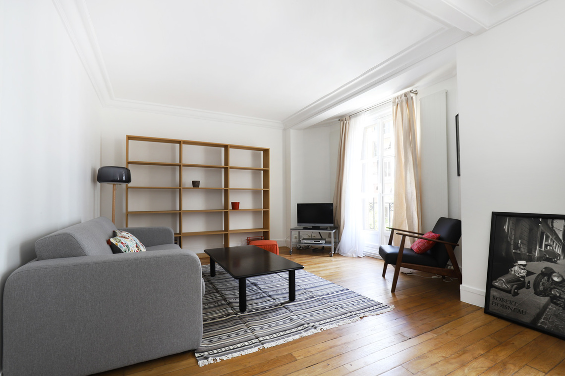 Furnished apartment for rent Paris Villa Robert Lindet