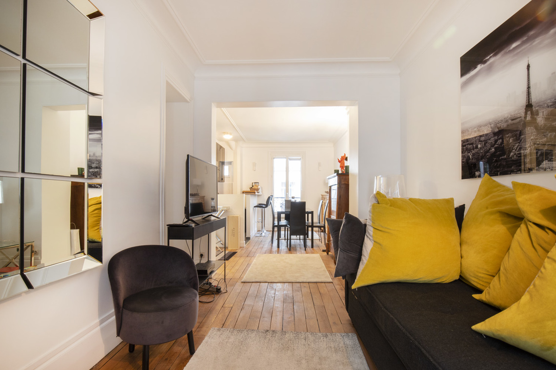 Apartment Paris Boulevard Pereire  2