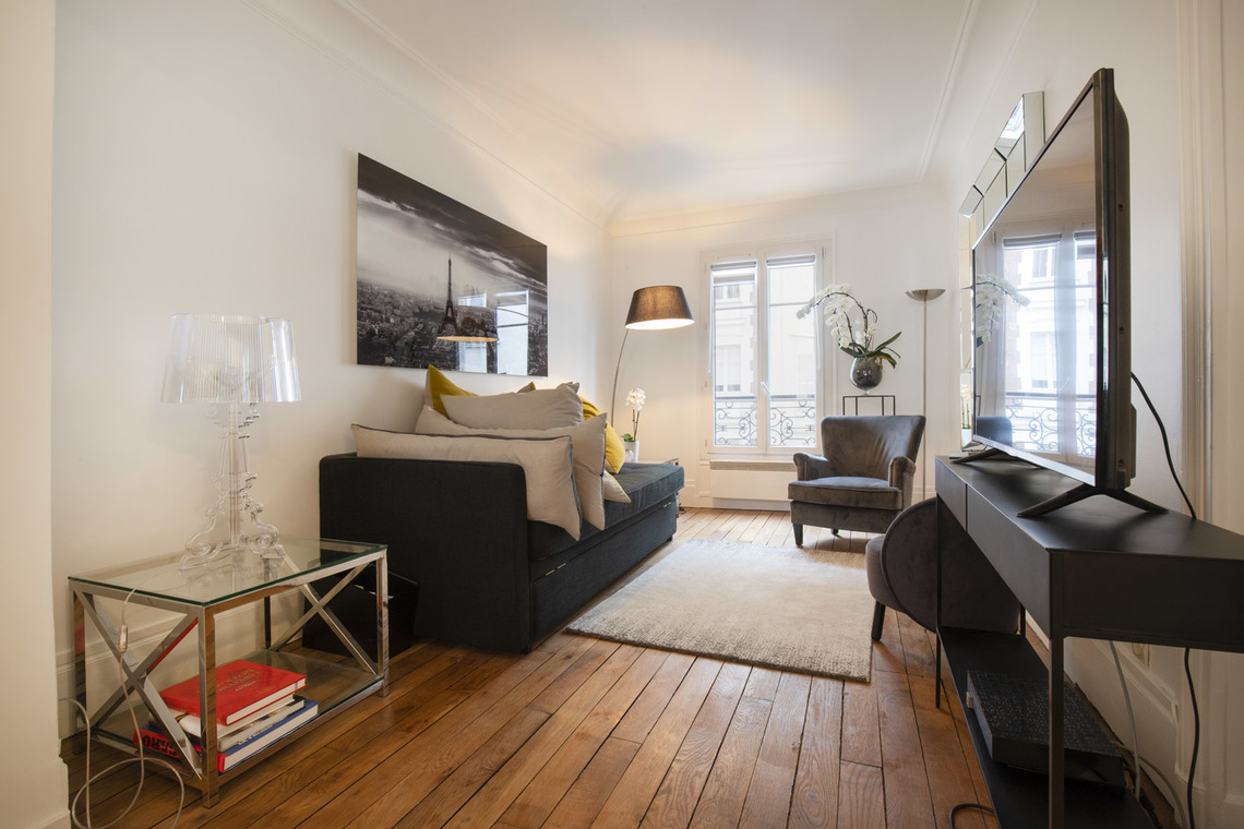 Furnished apartment for rent Paris Boulevard Pereire