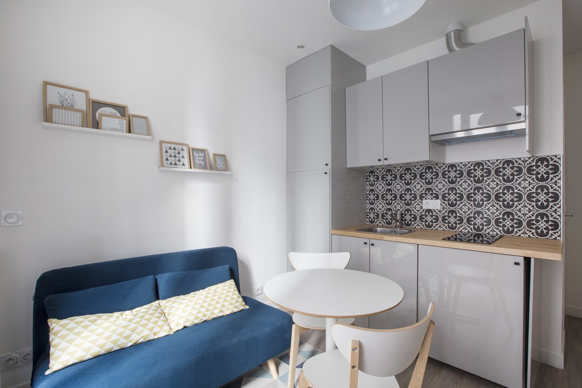 Furnished apartment for rent Paris Rue des Solitaires