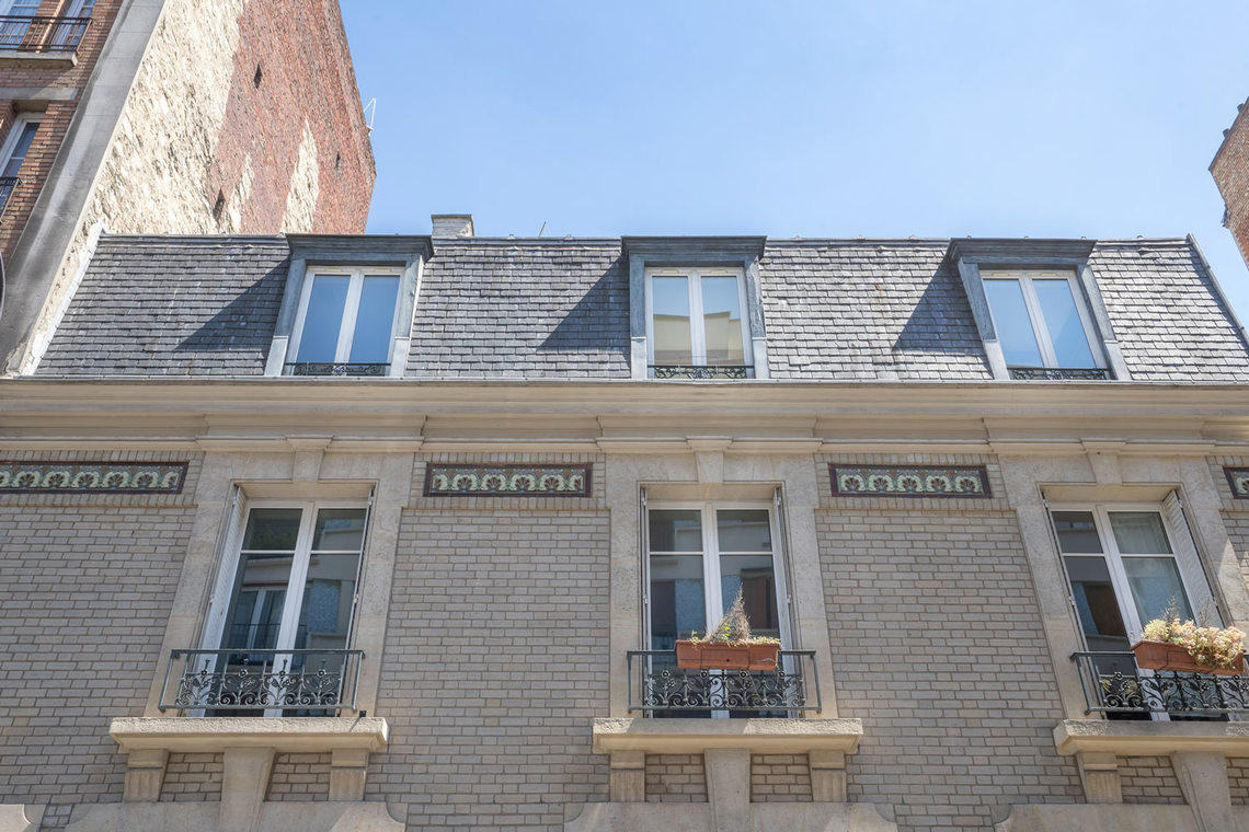 Apartment Paris Rue Lantiez 27