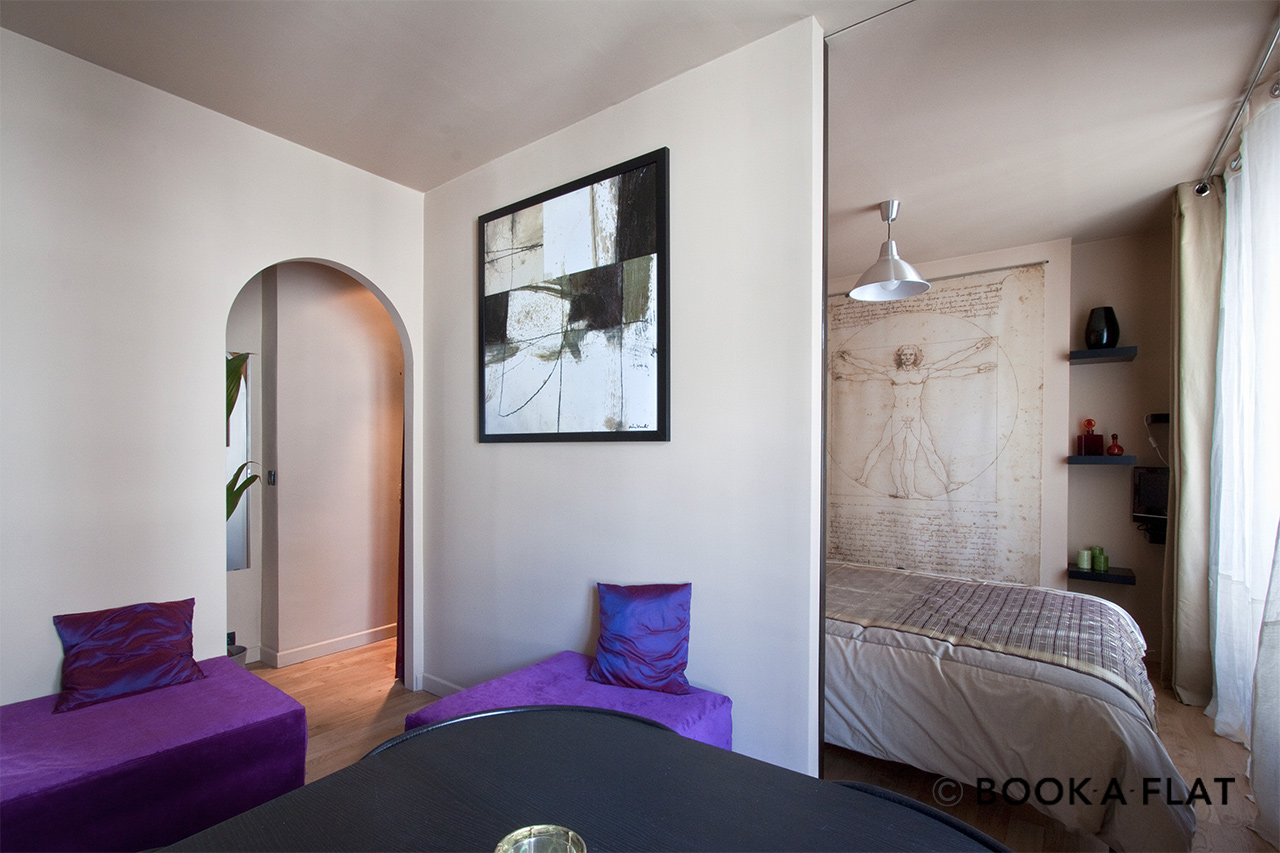 Furnished apartment for rent Paris Rue de Nice