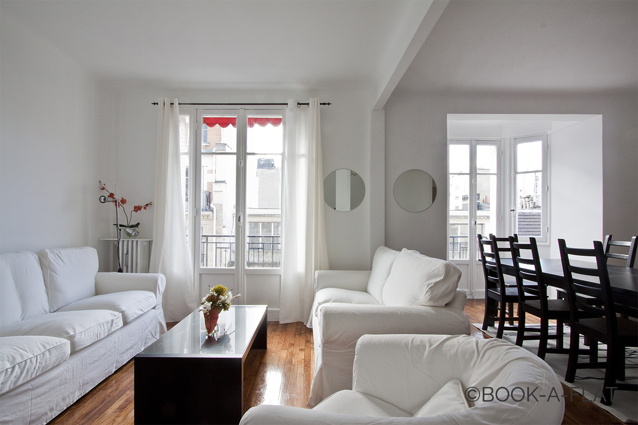 Furnished apartment for rent Paris Rue Degas