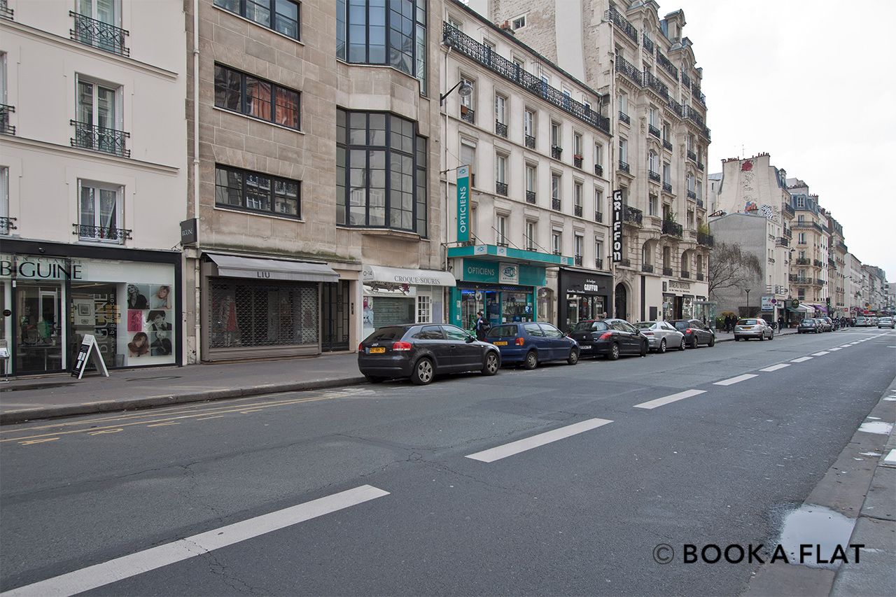 公寓 Paris Rue Lecourbe 12
