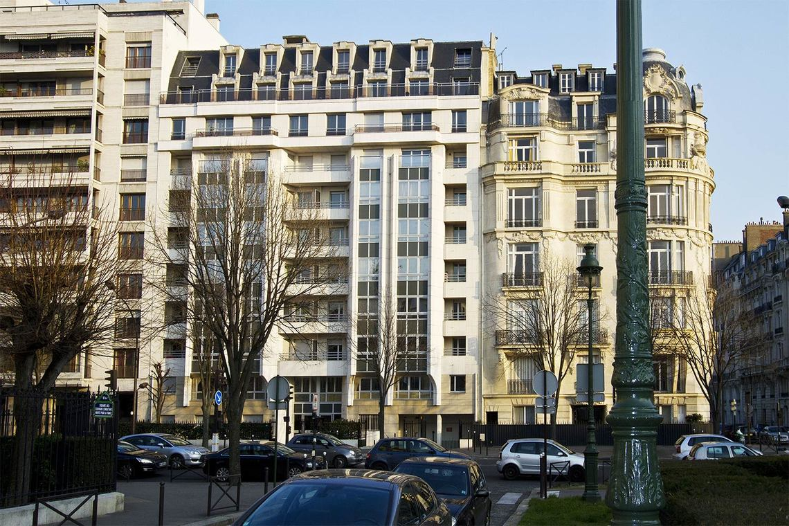 Apartment Paris Boulevard Suchet 9