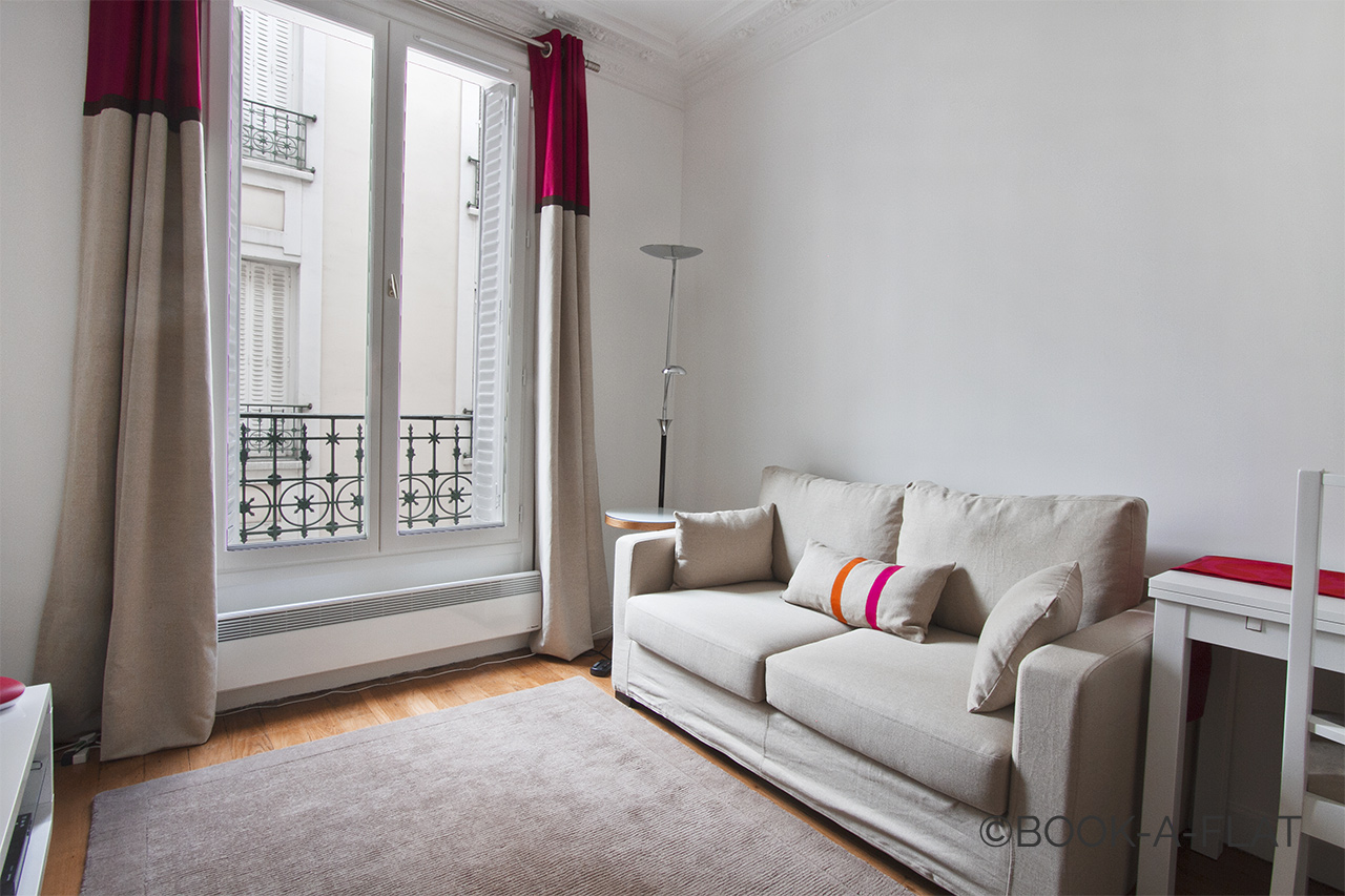 Furnished apartment for rent Paris Villa de la Terrasse