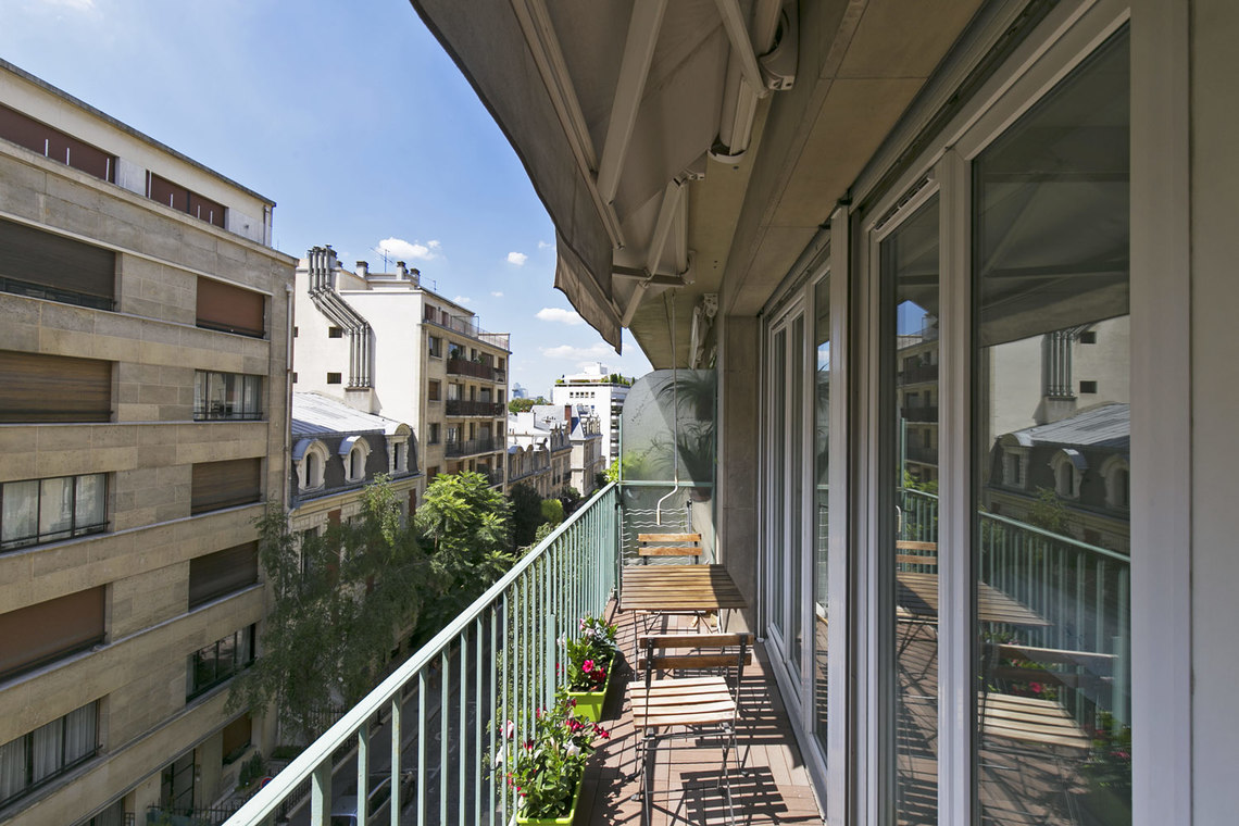 Apartment Paris Rue Weber 3