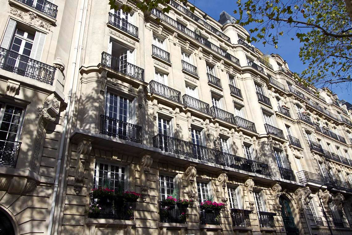 Apartment Paris Boulevard Flandrin 13