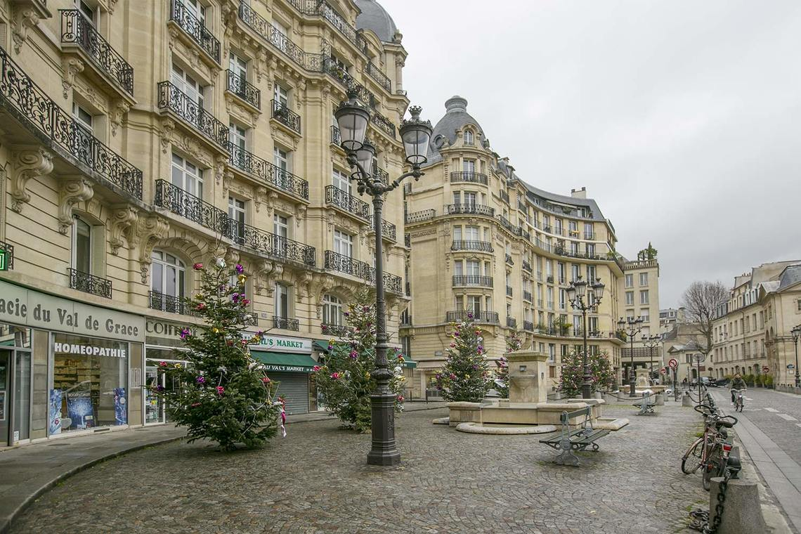 Apartment Paris Place Alphonse Laveran 16