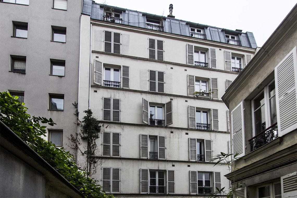 Apartment Paris Rue Buffon 12