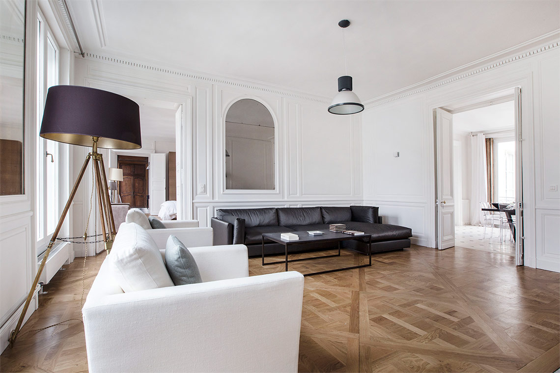 Apartment Paris Rue de Tournon 2